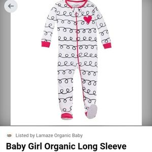 💥3/$15💥Lamaze ORGANIC Cotton Footed Onesie
